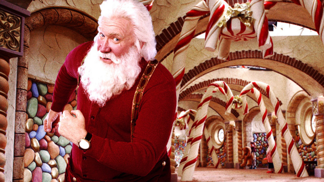 a look at the inception of the idea of santa claus This video was taken on christmas morning at 1:04 am in 2004 after the clock chimes at one o'clock, the sound of sleigh bells and hoofs are heard.