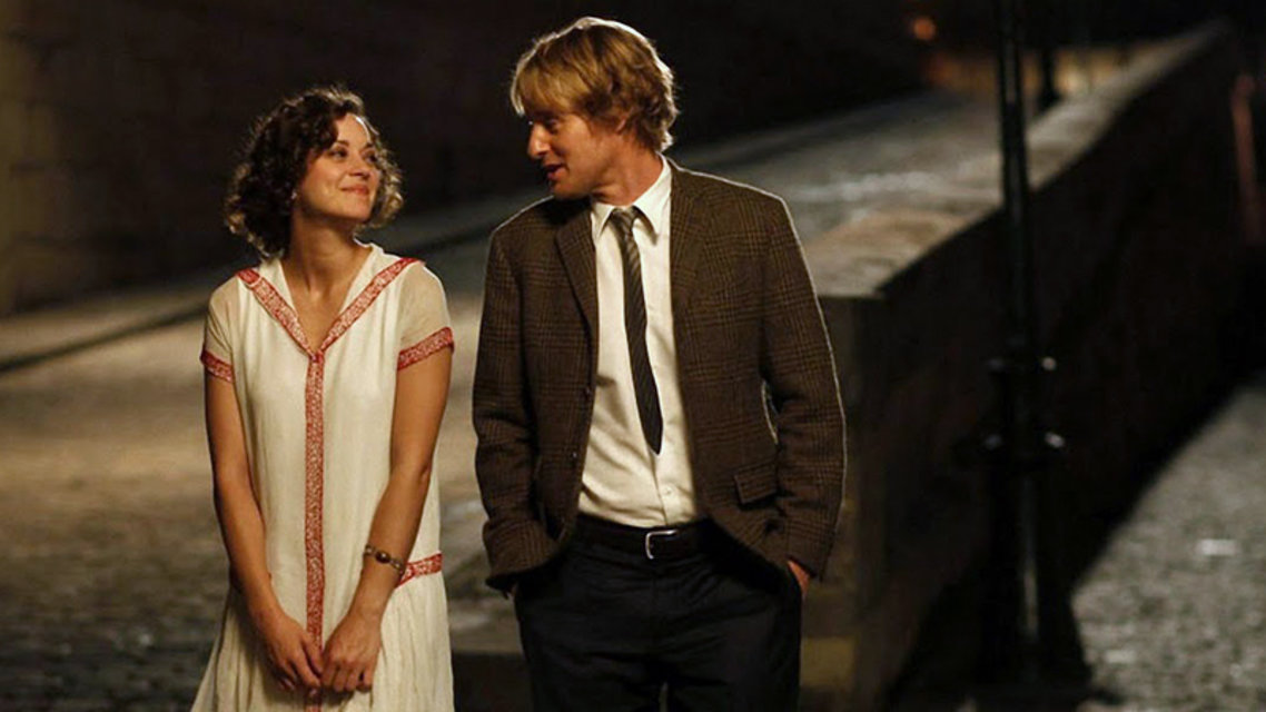 midnight in paris literary analysis The overly extended introduction sequence to midnight in paris, showing a series of atmospheric inserts and establishing shots sets up the location as paris, but perhaps too forcefully.